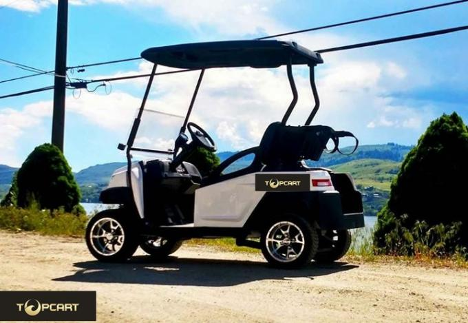 Easy Go Club Electric Car Golf Cart Injection Material For 2 Passengers