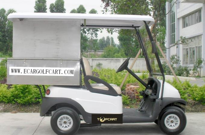 2 Person Custom Electric Golf Carts Stainless Steel Material For