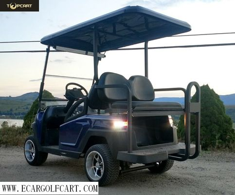 China Off Road Electric Golf Cart 4 Seater With Bluetooth supplier