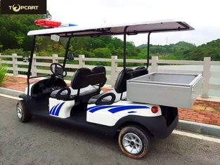 Energy Saving Custom Electric Golf Carts Street Legal 4 Seater With 3.7KW Motor