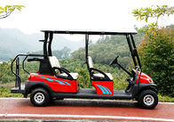 China Mini Electric 4 Seater Golf Cart With Aluminum Chassis For Passengers factory
