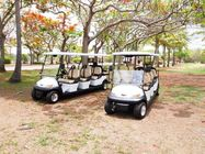 Environmental Park 8 Person Golf Cart Sightseeing Bus With Led Front Lights