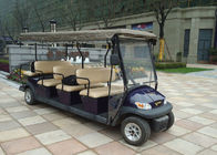 China Battery Powered Multi Passenger Golf Carts , 11 Seater City Sightseeing Bus factory