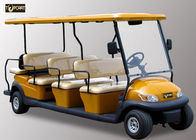 Battery Powered Multi Passenger Golf Carts , 11 Seater City Sightseeing Bus