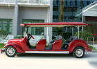 Hotel Shuttle Classic Golf Cars , Street Legal Electric Vehicles 48V Battery Voltage