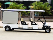 Customized 48V Electric Car Golf Cart , 4 Passenger Low Speed Electric Vehicles