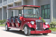 Classic 6 Person Custom Electric Golf Carts With Aluminum Chassis For Sightseeing