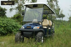 China Dynamic Type 6 Seater Golf Cart Big Round Smooth Driving Safety for Mountain Pass company
