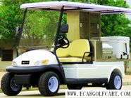 China Electric Utility Golf Beverage Cart 48v Battery Power With Ice Box company