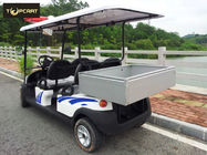 48V Small Battery Operated Custom Electric Golf Buggies to Rear Storage