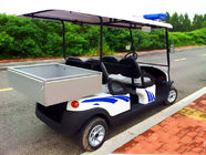 China Battery Powered Custom Electric Golf Carts , Electric Patrol Car 8 Hours Charging factory