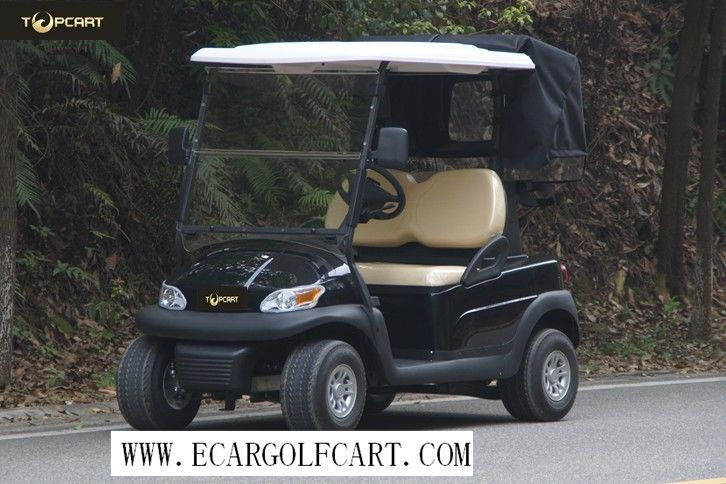 Eco Friendly Colorful 2 Seater Golf Cart Battery Low