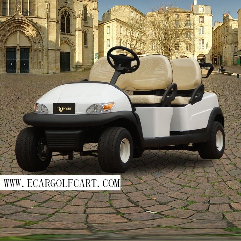 Customized Electric Golf Beverage Cart 4 Seater Range Up To 50 Miles