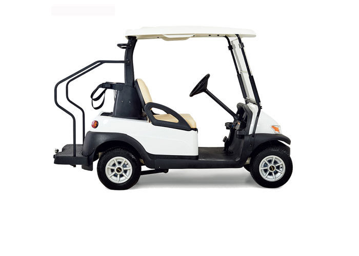 Small Electric Club Car Golf Buggy Two Seater 25 30 Km H Maximum Speed