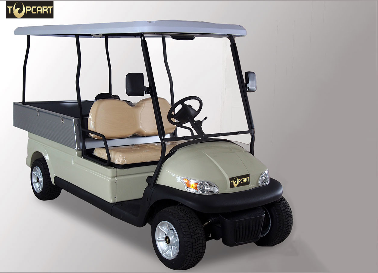 Colorful Motorised Utility Club Car Golf Buggy For Food / House Transportation