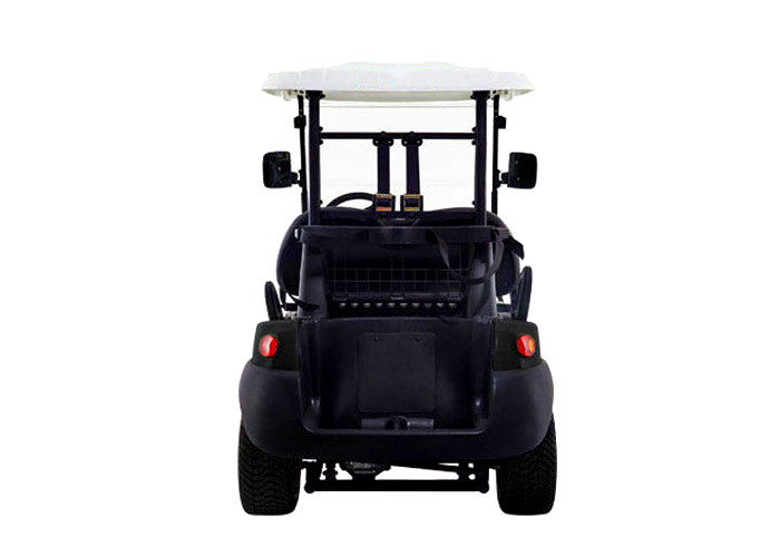 Soft Leather Seat Electric Street Legal Golf Cart After The Double on