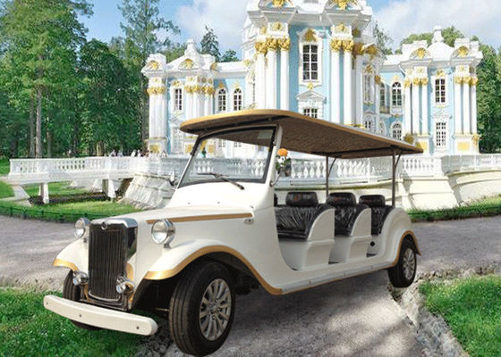 Sightseeing Classic Car Golf Carts 6 Seater