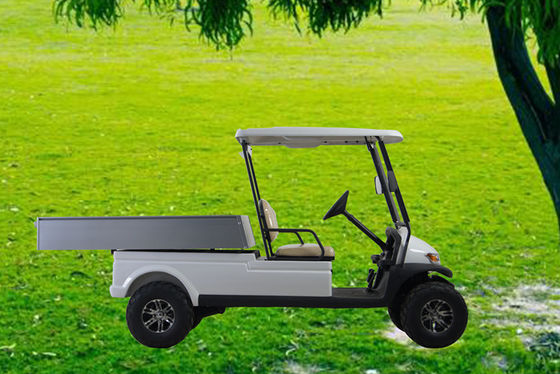 Big Tyre Electric Club Car Utility Cart , Hunting Golf Carts With 3.7KW KDS Motor