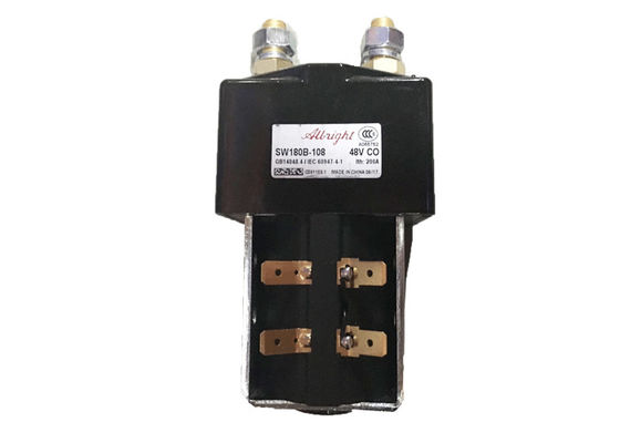 China 48V Contactor Type Golf Cart Two Sets OF Contact Electric Relay Voltage distributor