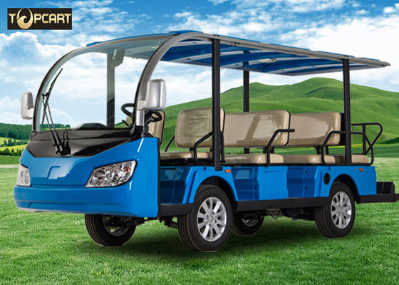 China Multi Passenger Electric Shuttle Car Golf Cart factory