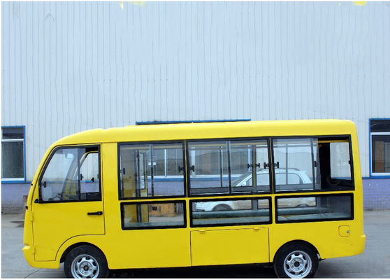 China Custom Multi Passenger Golf Carts , Electric Shuttle Car Bus For Passenger Transportation distributor