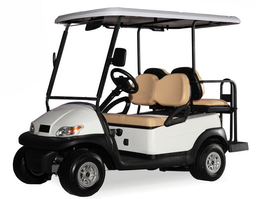 Customized Electric Car Golf Cart 4 Seater Range up to 50 Miles Per Charge