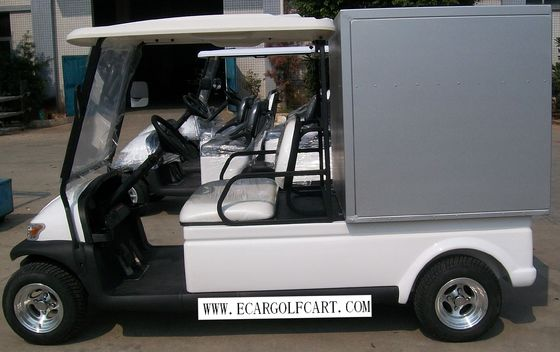 Electric Utility  Golf Cart  2 Seaters With Aluminum  Box For Transportation