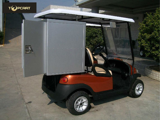 China Electric Golf Buggy 2 Seater Golf Carts with Aluminum Sealing Layer 2 Containers distributor