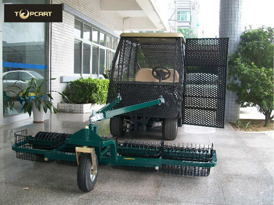 China Practical Electric Car Golf Cart , Fully Enclosed Golf Carts Two Seater To Pick Up distributor