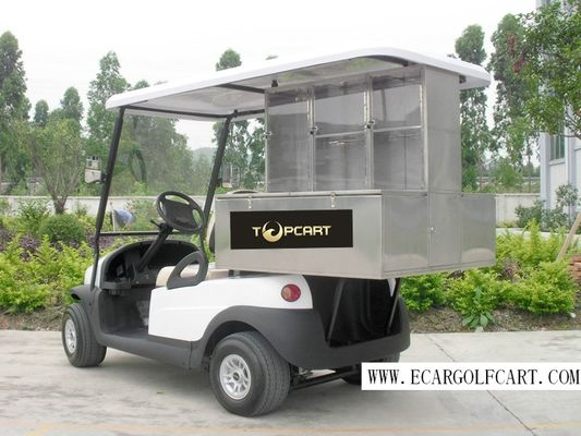 2 Person Custom Electric Golf Carts Stainless Steel Material For Food Transportation
