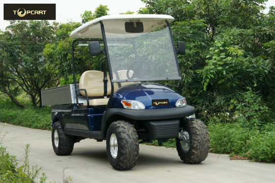 China Mountain Type Motorized Golf Cart Seal Box Transportation , High Speed Steady distributor