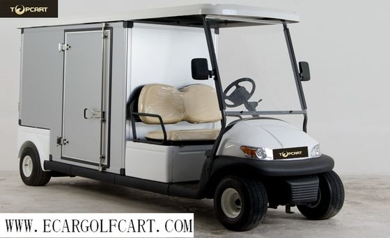China Hotel Custom Electric Golf Carts Electric Utility Carts With 48v Battery Power , Aluminum Box distributor