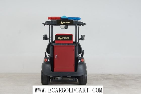 China Electric Powered 2 Seater Golf Cart Equipment 3.7kw KDS Motor For Fire Fighting distributor
