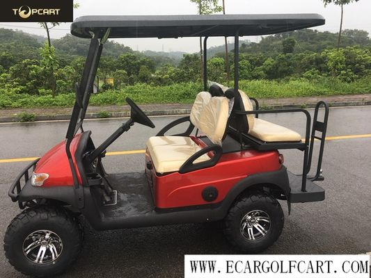 China Off Road 4 Seater Electric Golf Buggy With Aluminum Chassis , Battery Powered distributor