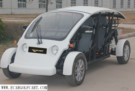 China Electric Utility 4 Seater Golf Cart Fiberglass Material For Street distributor