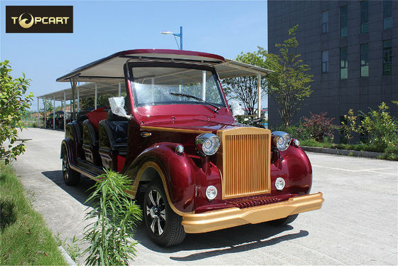 Luxury Antique 12 Seater Classic Electric Cars Lead Acid Cell Battery Operated
