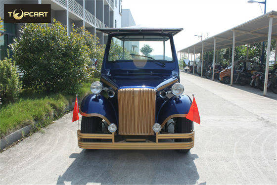 12 Person Classic Golf Cart Electric Power - operated With Aluminum Chassis