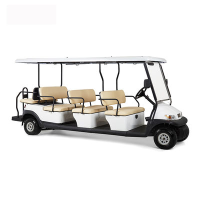 China Electric 48V 12 Seater Golf Cart , Battery Powered Club Car Electric Golf Cart factory