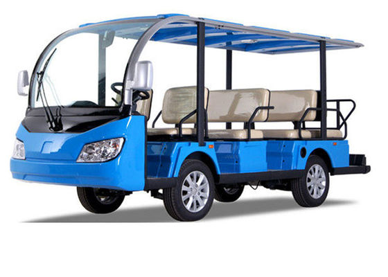 China 11 Seats Electric Sightseeing Bus 4 Wheel Electric Shuttle Car distributor