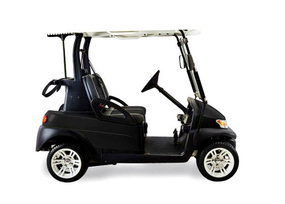 China Soft Leather Seat Electric Street Legal Golf Cart After The Double Drive And Cover distributor