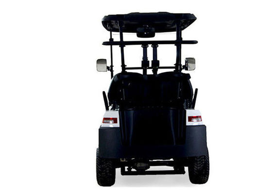 China Road Legal 2 Seater Golf Buggy Utility Cart With 48 V Battery Power , white Color distributor