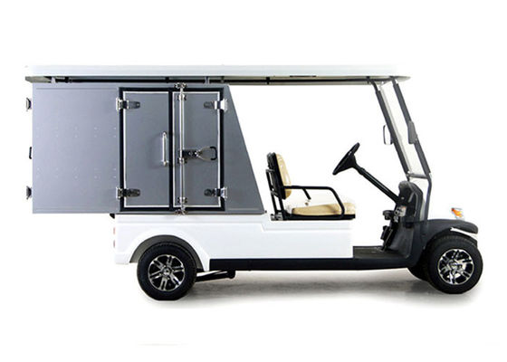 China Aluminum Seal Type Electric Car Golf Cart Carryall with Custom Utility Box distributor