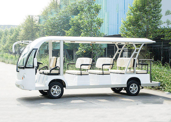 China 14 Seats 48V Trojan Battery Motor 72V 7.5KW Electric Sightseeing Bus distributor