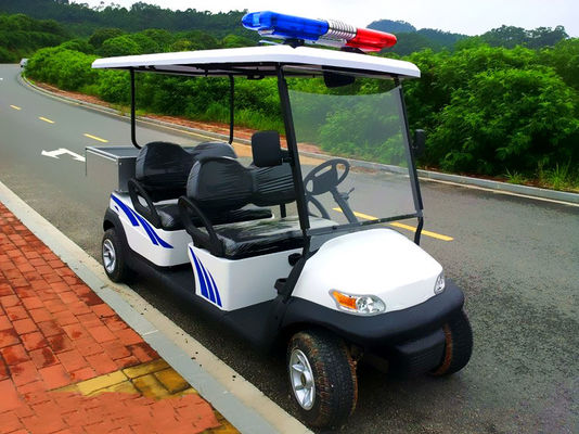 China Energy Saving Custom Electric Golf Carts Street Legal 4 Seater With 3.7KW Motor distributor