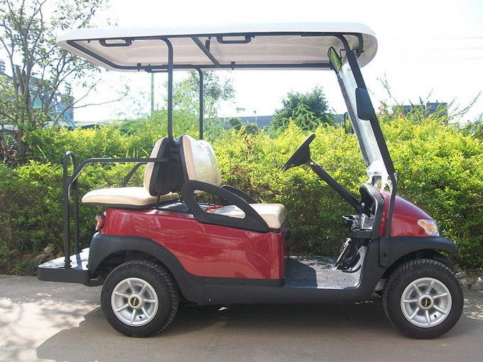 Energy Saving 4 Seater Golf Cart Electric Car 3.7kw KDS Motor For Golf Course