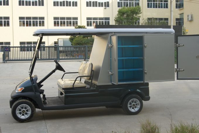 Commercial Luxury Motorized Utility Golf Cart , Electric Hotel Housekeeping Cart
