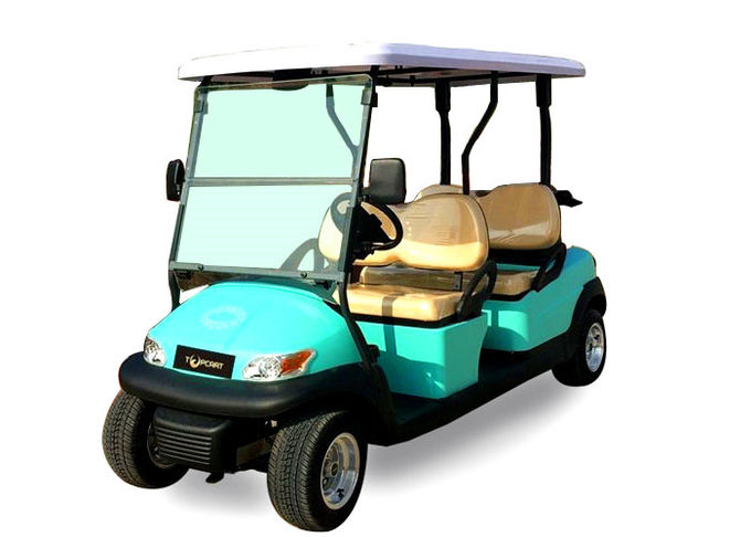 Aluminum Box Motorized Beverage Golf Cart With USA Curtis 1268 Controller